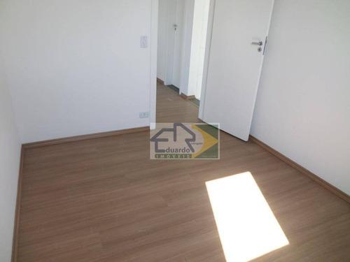 apartamento residencial para locação, vila urupês, suzano. - ap0135