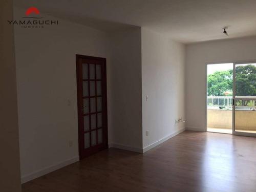 apartamento residencial para venda e locação, 90 m² de área útil, condomínio porto rico, paulínia - ap0010. - ap0010