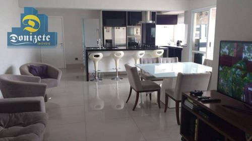 apartamento residencial para venda e locação, bairro jardim, santo andré. - ap9737