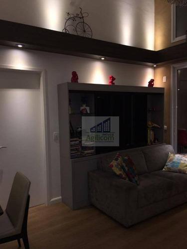 apartamento residencial para venda e locação, brooklin, são paulo. - ap0092