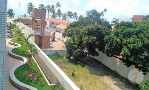 apartamento residencial para venda e locação, cabo branco, joão pessoa. - ap6242