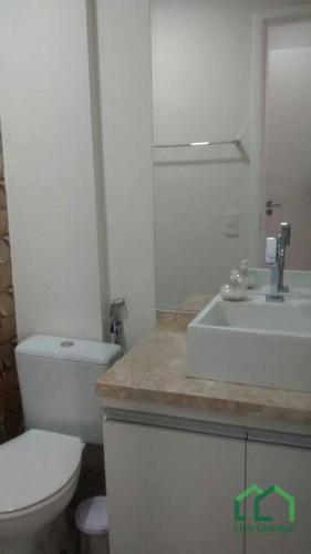 apartamento residencial para venda e locação, cambuí, campinas. - ap0572
