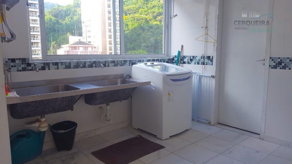 apartamento residencial para venda e locação, centro, guarujá - ap0057. - ap0057