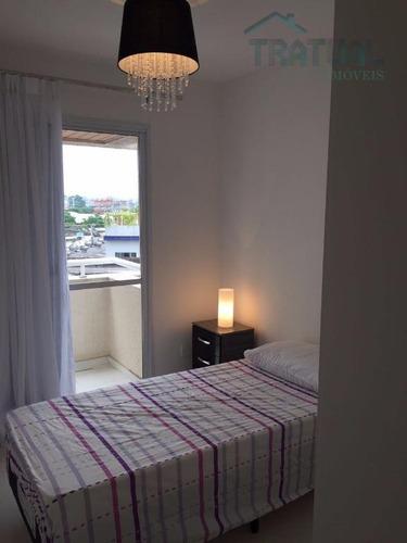 apartamento residencial para venda e locação, centro, santo andré. - ap0393
