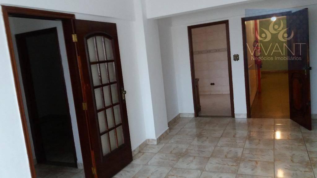 apartamento residencial para venda e locação, centro, suzano. - ap0175