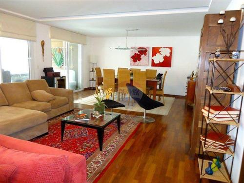 apartamento residencial para venda e locação, chácara santo antônio (zona sul), são paulo - ap0365. - ap0365