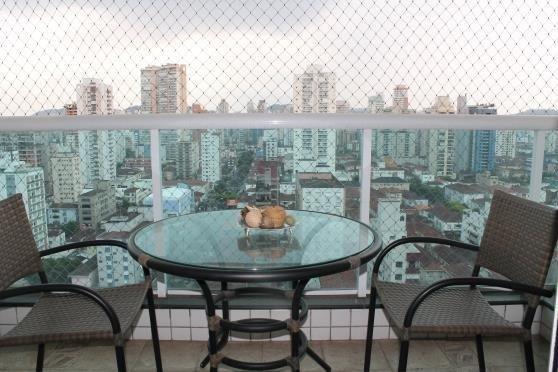 apartamento  residencial para venda e locação, embaré, santos-bs imóveis