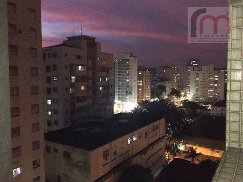 apartamento residencial para venda e locação, itararé, são vicente. - codigo: ap1987 - ap1987