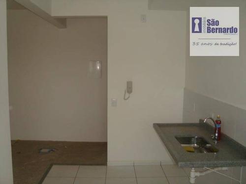 apartamento residencial para venda e locação, jardim cândido bertini, santa bárbara d'oeste. - ap0400