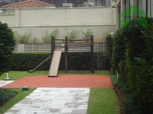apartamento residencial para venda e locação, jardim guedala, são paulo. - ap0555
