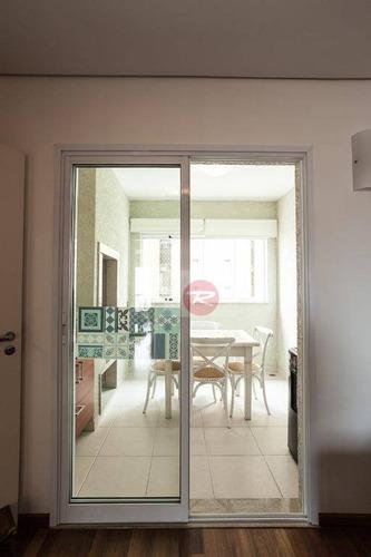apartamento residencial para venda e locação, perdizes, são paulo. - ap0085