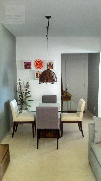 apartamento residencial para venda e locação, tombo, guarujá. - ap0043