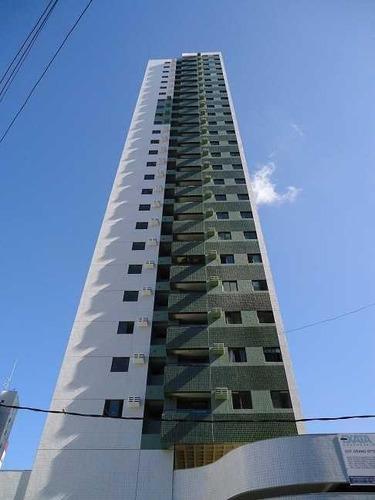 apartamento residencial para venda e locação, torre, recife. - ap2079