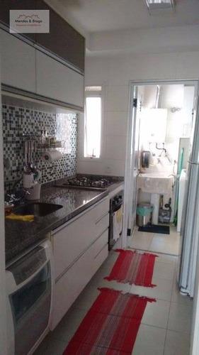 apartamento residencial para venda e locação, vila augusta, guarulhos. - ap0474