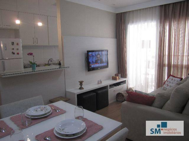apartamento residencial para venda e locação, vila baeta neves, são bernardo do campo. - ap0322