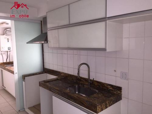 apartamento residencial para venda e locação, vila brandina, campinas. - ap0358