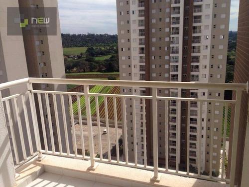apartamento residencial para venda e locação, vila do golf, ribeirão preto. - ap0641