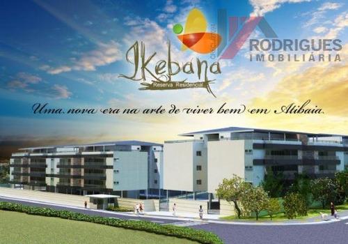 apartamento residencial para venda e locação, vila loanda, atibaia. - ap0121