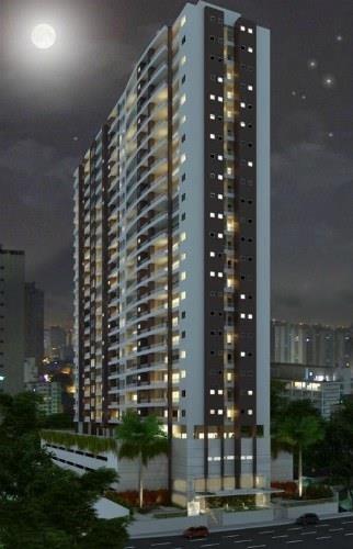 apartamento residencial para venda e locação, vila matias, santos - ap0088. - ap0088
