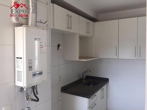apartamento residencial para venda e locação, vila nova, campinas. - ap0383