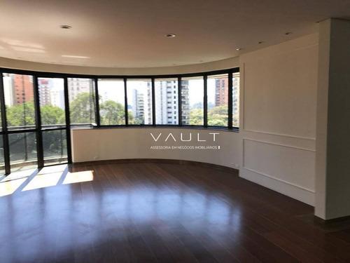 apartamento residencial para venda e locação, vila nova conceição, são paulo. - ap1128