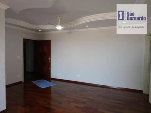 apartamento  residencial para venda e locação, vila santa catarina, americana. - ap0351