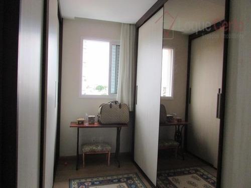 apartamento residencial para venda e locação, vila sfeir, indaiatuba. - ap0183