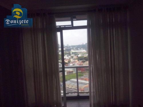 apartamento residencial para venda e locação, vila valparaíso, santo andré - ap9782. - ap9782