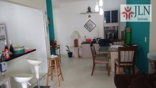 apartamento residencial para venda e temporada, centro, itanhaém - ap0049. - ap0049
