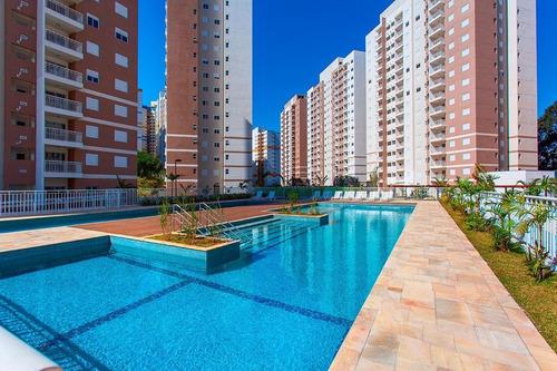 apartamento residencial para venda, jardim wanda, taboão da serra - ap6862. - ap6862-inc