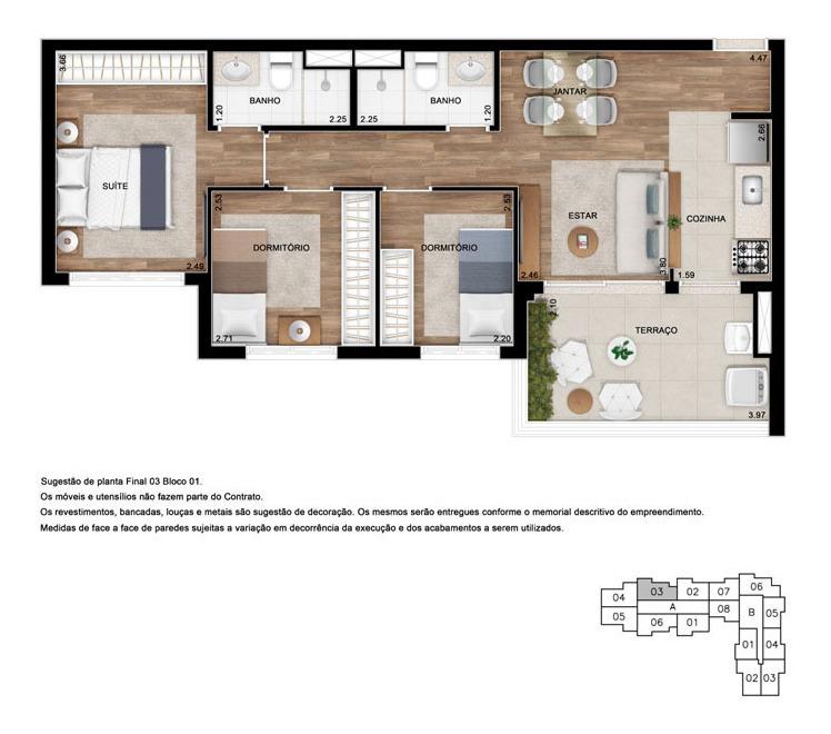 apartamento residencial para venda, tatuapé, são paulo - ap7949. - ap7949