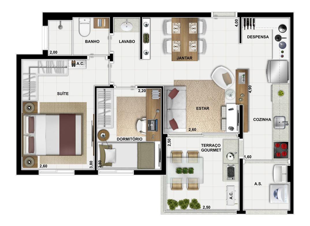 apartamento residencial para venda, vila suzana, são paulo - ap4532. - ap4532-inc