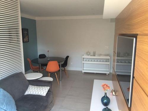 apartamento residencial reformado e com renda/alugado à venda, 55m², rua quatá, vila olímpia, são paulo - ap17604. - ap17604