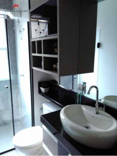 apartamento residencial à venda, 123 m², residencial premiere morumbi - torre veneza, paulínia. - codigo: ap0027 - ap0027