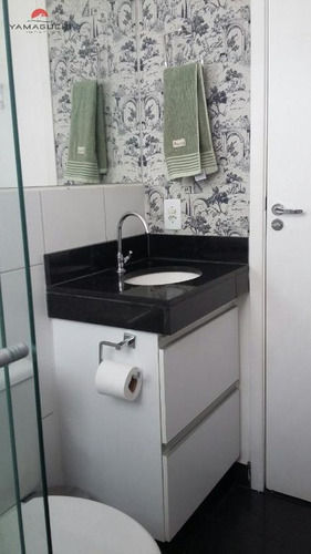 apartamento residencial à venda, 51 m²,  residencial parque