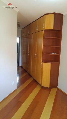 apartamento residencial à venda, 68 m², edifício cainã, centro, campinas. - codigo: ap0020 - ap0020