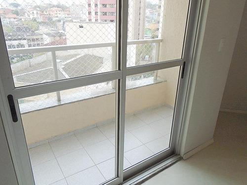apartamento residencial à venda, 83 m², 2 dormitórios, 1 vaga na vila gilda em santo andré. - ap1377