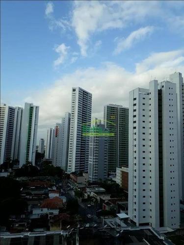 apartamento residencial à venda, aflitos, recife. - ap1037
