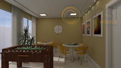 apartamento residencial à venda, água verde, curitiba. - ap0456