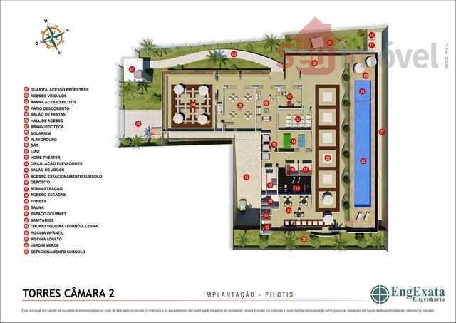 apartamento  residencial à venda, aldeota, fortaleza. - ap0099