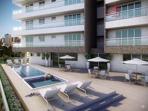 apartamento  residencial à venda, aldeota, fortaleza. - ap0100