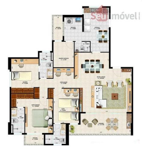 apartamento  residencial à venda, aldeota, fortaleza. - ap0496