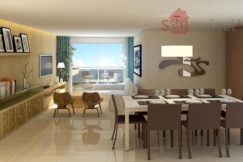 apartamento  residencial à venda, aldeota, fortaleza. - ap0597