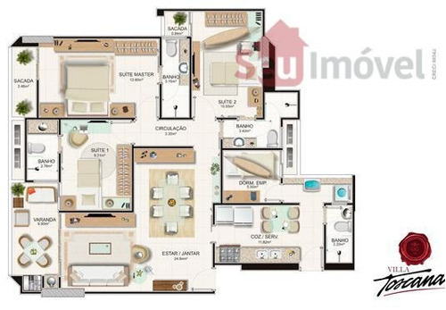 apartamento residencial à venda, aldeota, fortaleza. - ap0823