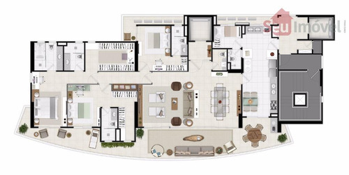 apartamento residencial à venda, aldeota, fortaleza. - ap0973