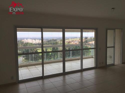 apartamento residencial à venda, alphaville campinas, campinas. - ap0224
