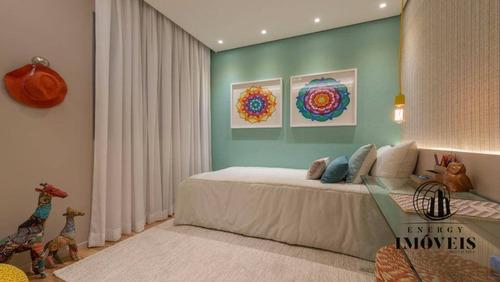apartamento residencial à venda, alto da lapa, são paulo - ap1186