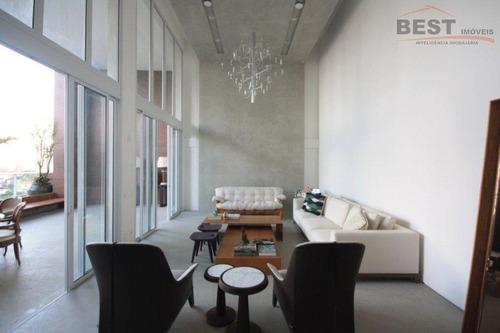 apartamento residencial à venda, alto da lapa, são paulo. - ap4240
