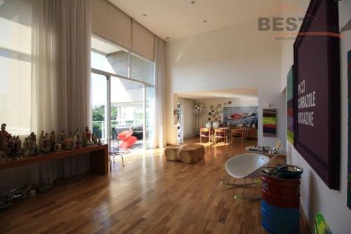 apartamento residencial à venda, alto de pinheiros, são paulo. - ap4182