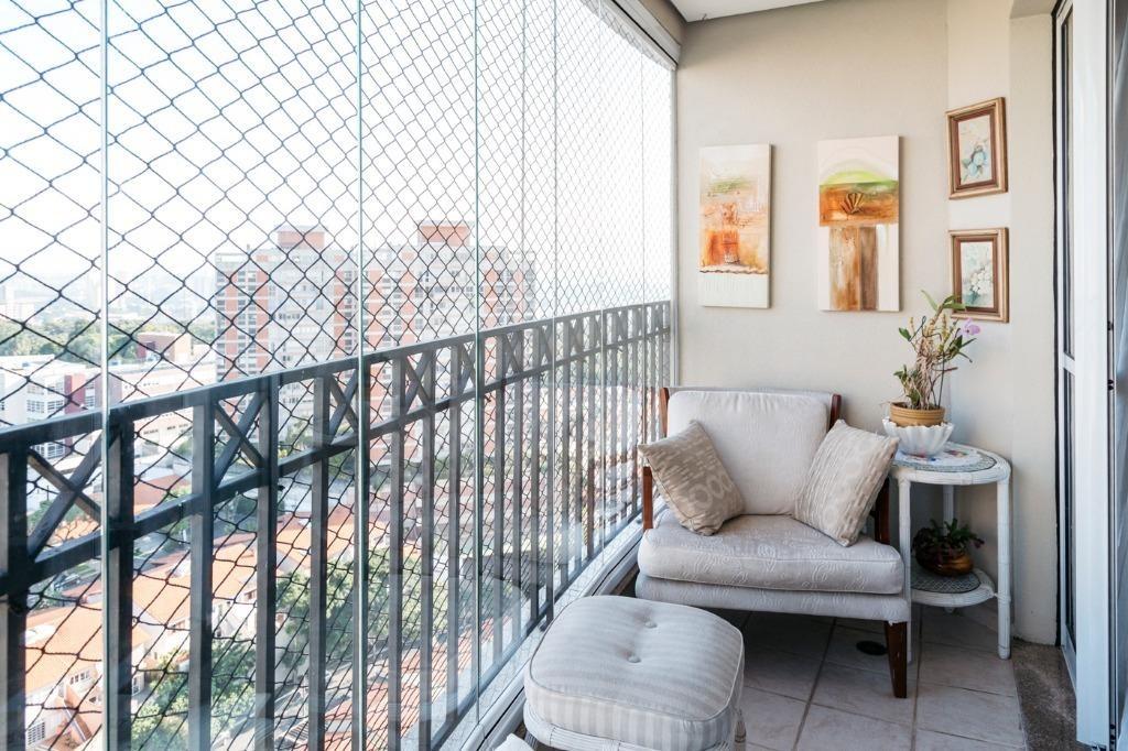 apartamento residencial à venda, andar alto, avenida sargento geraldo sant'ana, jardim marajoara, são paulo - ap13516. - ap13516